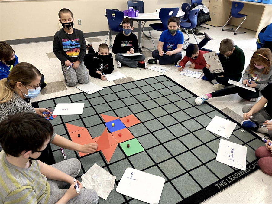 Student Math learning activity